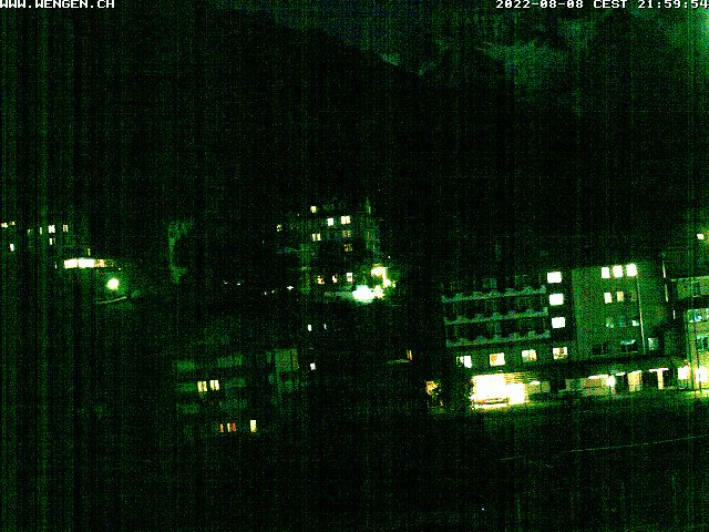 Webcam Wengen Dorf